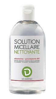 Solution micellaire nettoyante Pharmodel les essentiels
